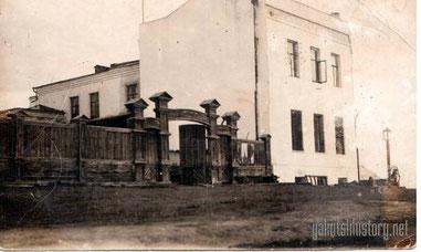Кирпичный дом П.А. Кушнарева в Якутске (с тыльной стороны). Ул.Набережная.