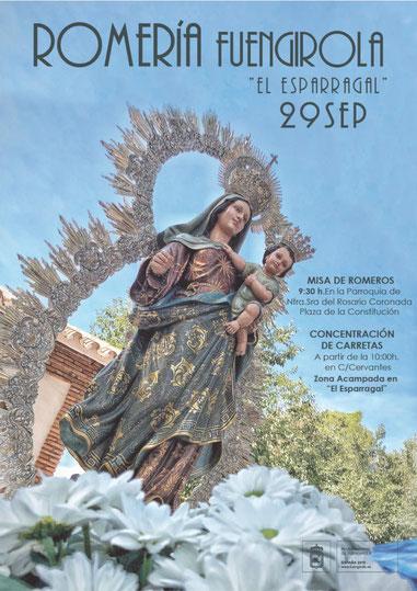 Fiestas en Fuengirola Romeria en honor a la Virgen del Rosario