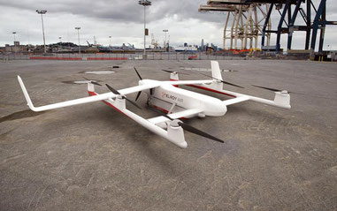 Elroy Air developed drones are designed to carry 250 kilos of cargo over a maximum distance of 300 miles