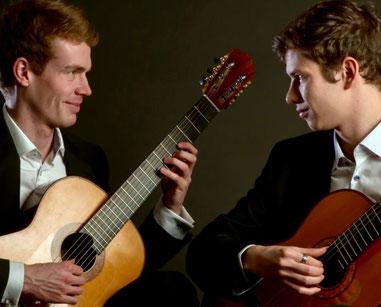 Das  Duo Sören Golz und Ivan Danilov
