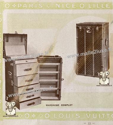 Page 33 - Louis Vuitton 1914 Catalog - Complete wardrobes