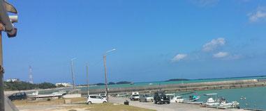 美しい辺野古の海。この時米軍ヘリが墜落していた
