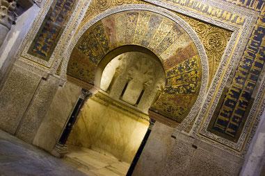 """""""Mihrab"""" in der Mezquita in Cordoba"""