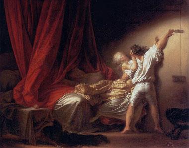 Le verrou, Jean-Honoré Fragonard