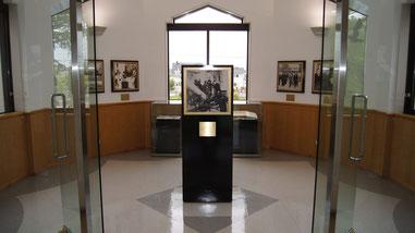 皇族ご巡覧の特別展示室