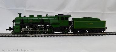 Dampflok BR S 3/6 grün KBayStsB / Märklin 37182 Limitiertes Sondermodell 1996