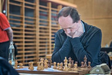 Johann Weilguni unterlag nach langem ausgeglichenem Kampf