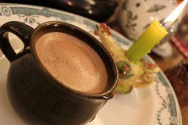 Gourmandises TV - Chocolat chaud maison à l'ancienne
