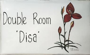 Double Room 'Disa' - Door Plate