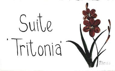 Suite 'Tritonia' - Türschild
