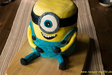 Minion Motivtorte in 3D