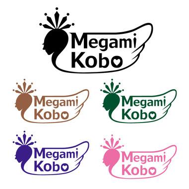 女神工房様ロゴデザインを作成、ラグジュアリーなロゴ制作