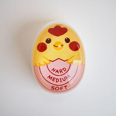ダイソーのエッグタイマーを使ってゆで卵