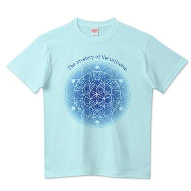 半袖・長袖Tシャツ・スウェット・パーカー曼荼羅(まんだら)1-The mystery of the universe-