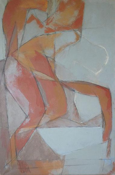 Duchamp et Dupont / Huile sur toile 150 x 100