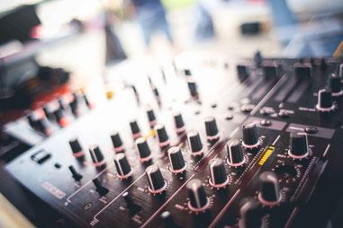 Mischpult Hochzeits-DJ