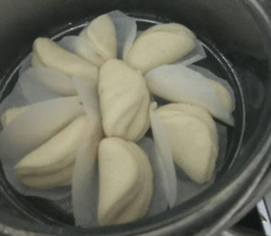 Bao : cuisson vapeur