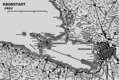 Kronstadts placering
