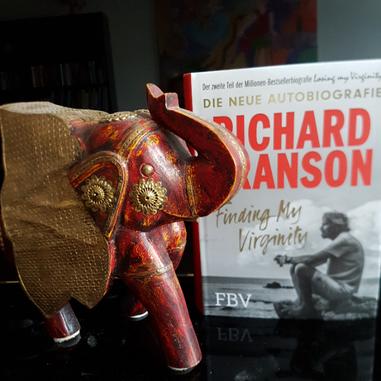 Eva Wlodarek - Buchrezensionen - Richard Branson: Finding my Virginity.
