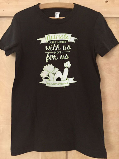 animals are friends not food vegan love apparel