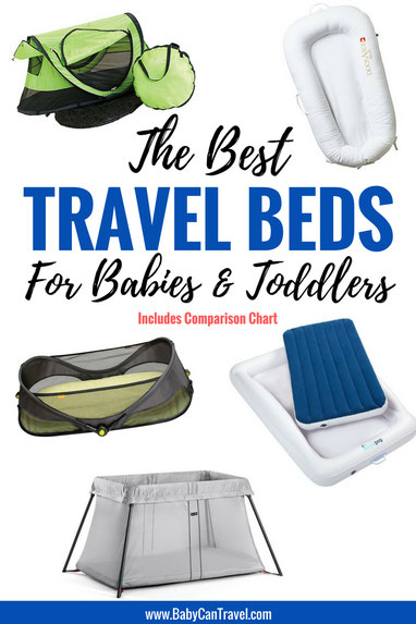 Looking for a portable sleeping solution for your baby or toddler? Click to see our comparison of lightweight travel cots and travel beds for your baby or toddler. | Baby Travel | Travel with baby | Baby Travel Gear #baby #travelgear