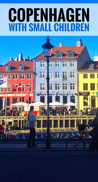 Put Copenhagen on your family travel list! Exceptionally baby-friendly, it's a great place for your next family vacation! | Travel with baby, infant, toddler | Traveling with baby | Denmark | Travel with kids