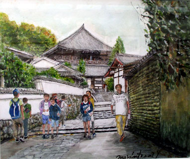 東大寺・二月堂への道(F8号)MM氏