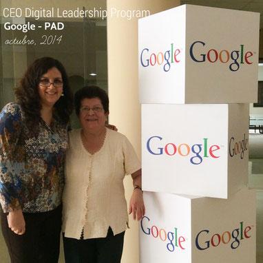 Tejiendo Perú en el CEO Leadership Digital Program de Google y PAD en Lima, Perú