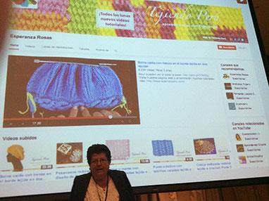 Tejiendo Perú en la 1ra reunión de YouTube en Lima, Perú