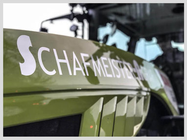 Schafmeister Agrar Lohnunternehmen Agrardienstleister Ausbringen von organischem Dünger