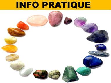 Info pratique minéraux - Lithothérapie - casa bien-être.fr
