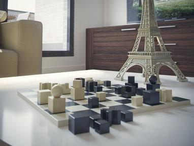 3D detalle de salón para vivienda. Corona renderer