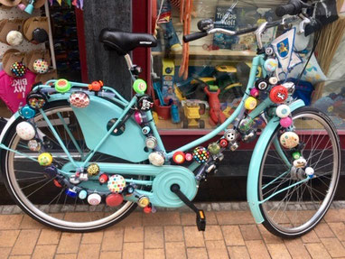 Fahrrad mit Klingeln