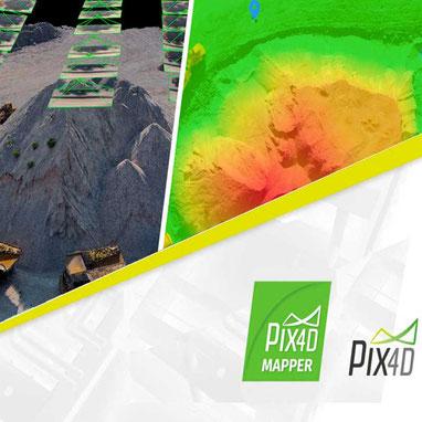Pix4D Mapper ofrece un procesamiento de imágenes profesional para obtener los mejores resultados en mapeo