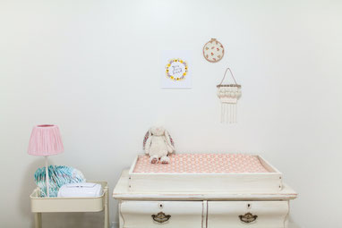 Ausstattung eines Baby-Zimmers