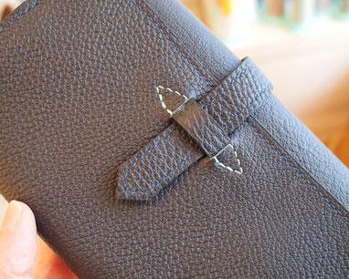 ブックカバー 手縫い