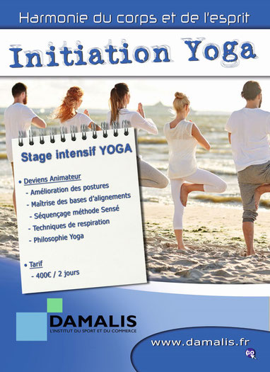 Initiation intensive au Yoga à Pau