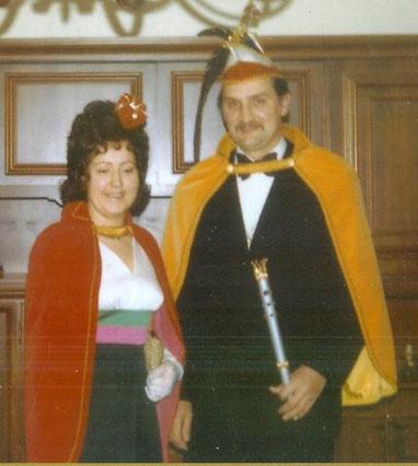 1973 Prinz Siegfried Malz I. Prinzessin Ursula Malz II.