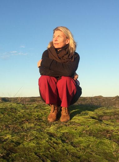 Katharina Hagena auf Spiekeroog