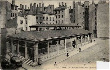 Une seule halle (vers 1905)