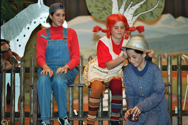 Pippi Langstrumpf in Taka Tuka Land, Kindertheater Floh, theaterworks