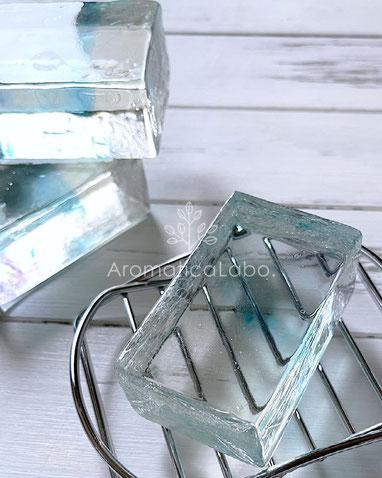 アミノ酸石鹸透明石鹸作り方・レシピオンラインレッスンもアロマティカ