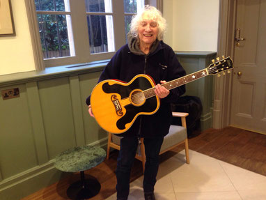 Albert Lee and Steiny Ike Everly guitar