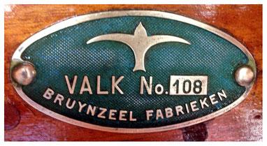 """Kajuitvalk """"Wiekslag"""" (Bouwnummer 108) uit 1941"""