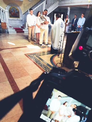 snimanje krstenja Svajcarska
