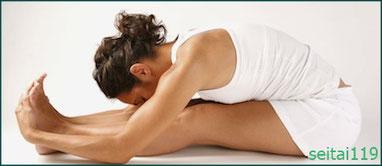札幌市-坐骨神経痛の改善のストレッチ運動