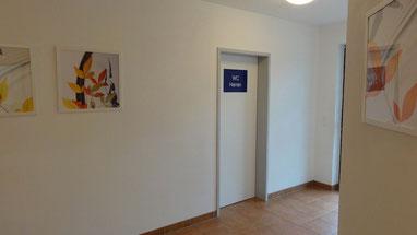 Sanitärtrakt, 2014 neu eröffnet @ zweiseen.de