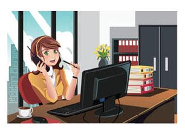 Une secretaire organisée à votre écoute