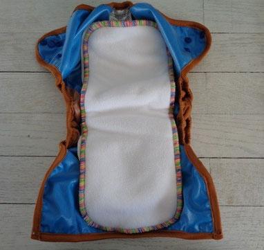 couche lavable bi best mopetitou te2 ecomome : insert hybrid best 5 épaisseurs