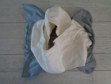 couche lavable Bumgenius elemental: les 2 inserts